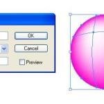 Získání obrysu objektu s mřížkou přechodu (mesh)